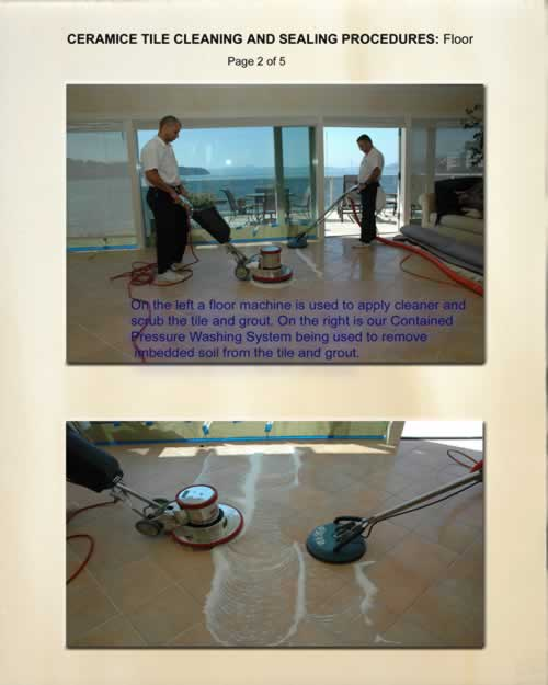 Ceramic Tile Cleaning and Sealing 2