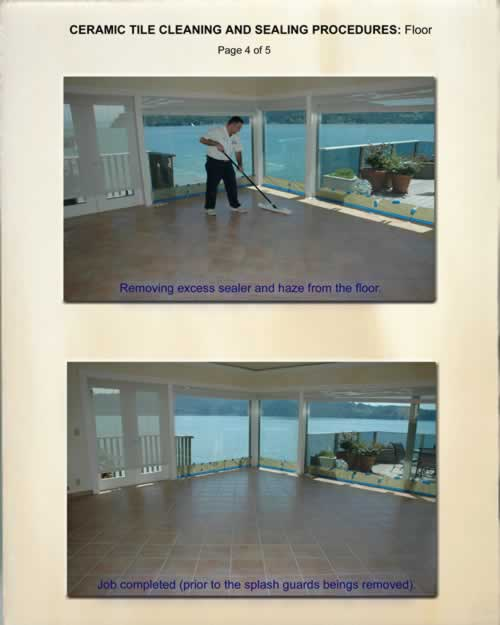 Ceramic Tile Cleaning and Sealing 4