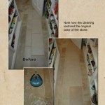 Limestone Cleaning Floor