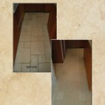 Limestone Cleaning Kitchen Floor
