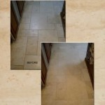 Travertine Cleaning: Floor 2